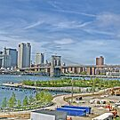 Manhattan bridge-view from Brooklyn by henuly1