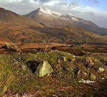Snow caped Mangerton by John Walsh, IRELAND