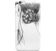 hair study #1  iPhone Case/Skin