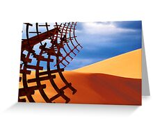 Sand Wreck Greeting Card
