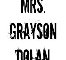 Mrs. Grayson Dolan by BaileyLisa