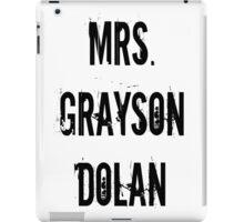 Mrs. Grayson Dolan iPad Case/Skin
