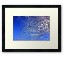 Flushing the Sky... Framed Print