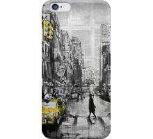 brooklyn cab iPhone Case/Skin