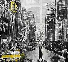 brooklyn cab by Loui  Jover