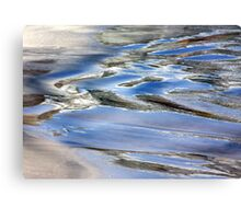 Water paint Canvas Print