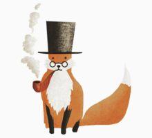 Fancy Fox One Piece - Short Sleeve