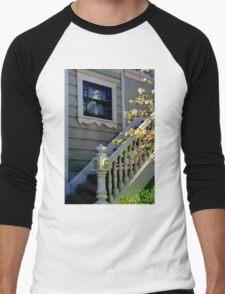 Upstairs Reflected, Downstairs Men's Baseball ¾ T-Shirt