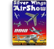 Silver Wings Airshow Design-2 Canvas Print