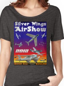Silver Wings Airshow Design-2 Women's Relaxed Fit T-Shirt