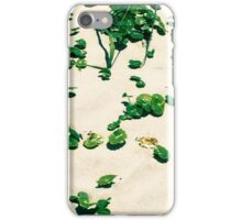 Sand dunes edge on the beach  iPhone Case/Skin