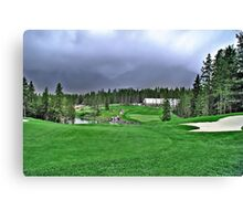 Silver Tip Golf Course Alberta, Canada 2 Canvas Print