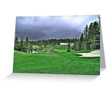 Silver Tip Golf Course Alberta, Canada 2 Greeting Card