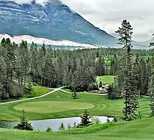 Silver Tip Golf Course Alberta, Canada 3 by Dave Nielsen