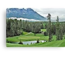 Silver Tip Golf Course Alberta, Canada 3 Canvas Print