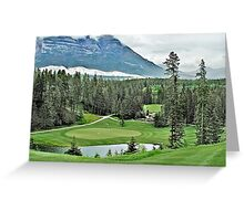 Silver Tip Golf Course Alberta, Canada 3 Greeting Card