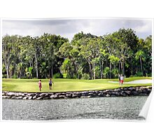 Moon Palace Golf Course, Cancun  Poster