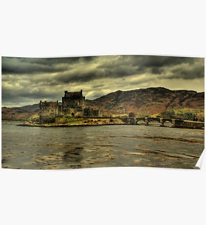 Eillan Donan Castle, Scottish Highlands Poster