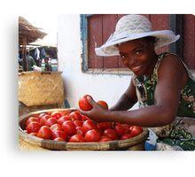 tomato? Canvas Print
