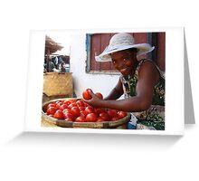tomato? Greeting Card