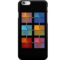1 to 18 Colorful Rust All Colors iPhone Case/Skin
