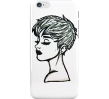 Miley [Pixar Sketch] iPhone Case/Skin