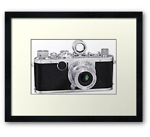 Film Camera Framed Print