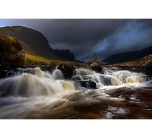 Russel Burn, Applecross, North West Scotland. Photographic Print