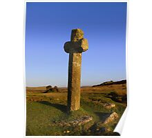 Dartmoor: Crosses Series- Windy Post Poster