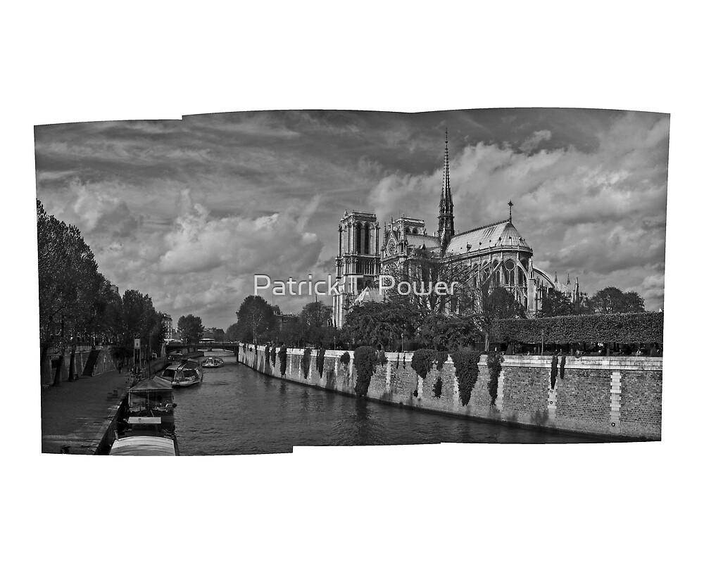 Cathédrale de Notre-Dame by Patrick T. Power