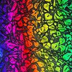 Rainbow Leaves by Caroline  Lembke
