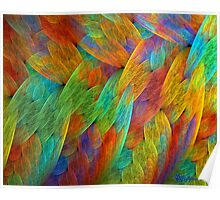 Feathers of the Rainbow Bird Poster