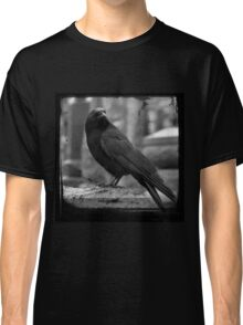Black And White Crow Classic T-Shirt