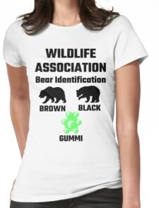 Wildlife Association Bear Identification Womens Fitted T-Shirt