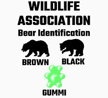 Wildlife Association Bear Identification Unisex T-Shirt