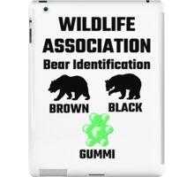 Wildlife Association Bear Identification iPad Case/Skin