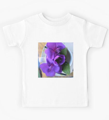 For All The T In Tibouchina Kids Tee