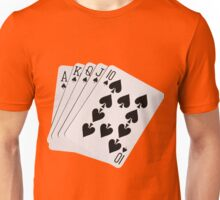 ROYAL FLUSH-2A Unisex T-Shirt
