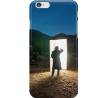 There are other worlds than these. iPhone Case/Skin