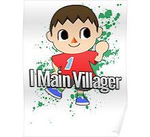 I Main Villager - Super Smash Bros. Poster