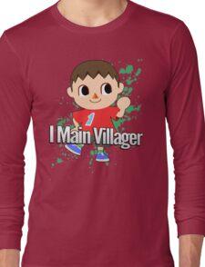 I Main Villager - Super Smash Bros. Long Sleeve T-Shirt
