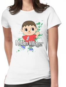 I Main Villager - Super Smash Bros. Womens Fitted T-Shirt