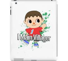 I Main Villager - Super Smash Bros. iPad Case/Skin