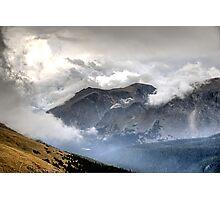 RMNP / Mt Nimbus & Mt Stratus Photographic Print