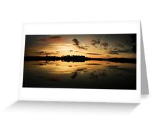 Swithland Sunset Greeting Card