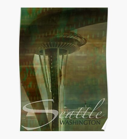 Layers of Seattle Poster