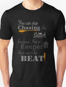 Quidditch Word Play- black background option T-Shirt