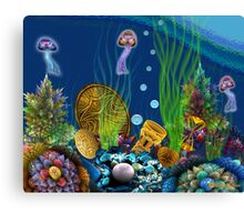 Apo Sunken Treasure Canvas Print