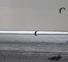 Hunstanton windsurfers by evilcat