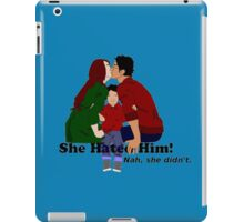 Jily She Hated Him iPad Case/Skin